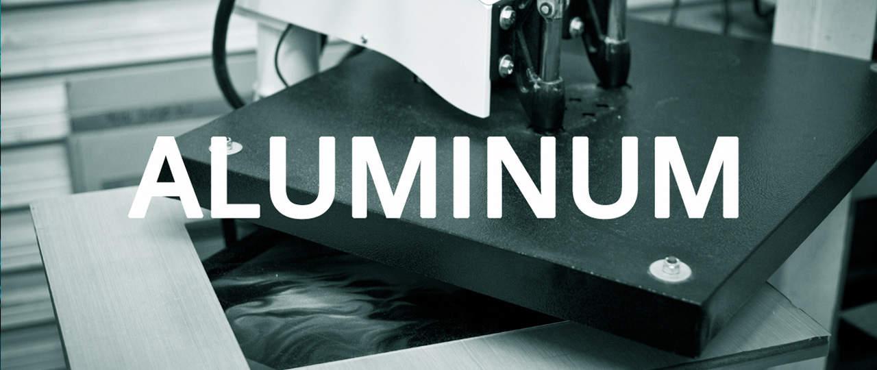 Dye-Sub Aluminum Panel Printing