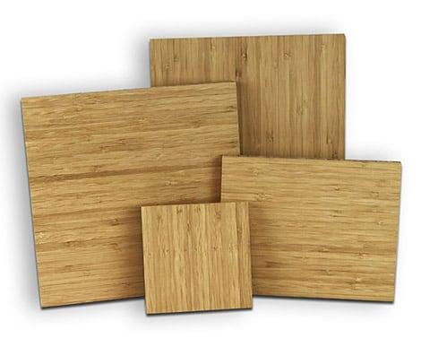 Bamboo Wood Panel Print
