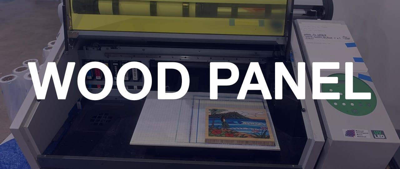 Wood Panel Printing - Chromaco Fine Art Printing