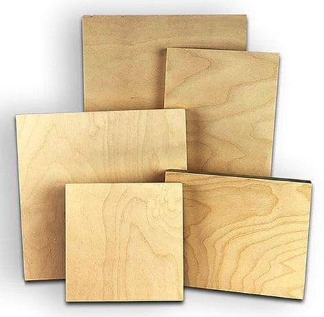 Maple Wood Panel Print
